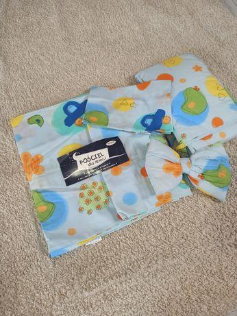 Комплект в детскую кроватку с балдахином.