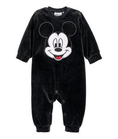 Pajacyk/piżamka H&M Myszka Miki 68