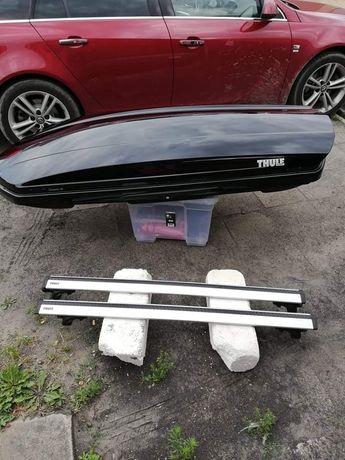 Box bagażnik dachowy Thule Dynamic  M Czarny Połysk, belki i pokrowiec