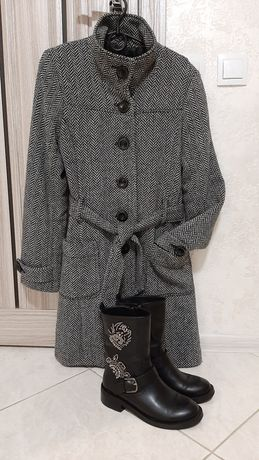 Пальто Tally Weijl. Зимнее пальто. Осеннее пальто