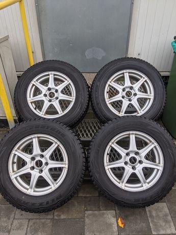 Alufelgi koła zimowe Kia Nissan 5x114,3 215/70/16 7Jx16 ET40 Zima