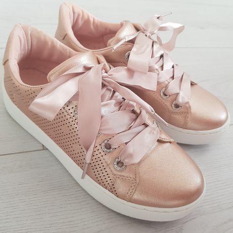 Кеды кроссовки пудровые розовые