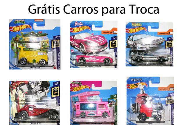 hot wheels - Carros Grátis para troca