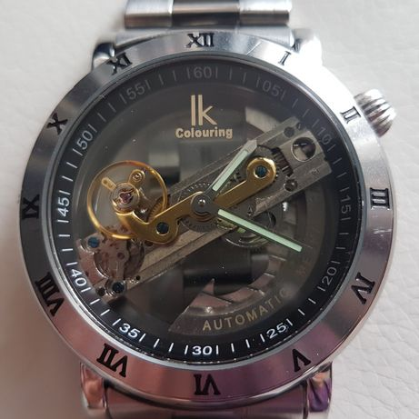 Zegarek LK Colouring, automatyczny, szkło.