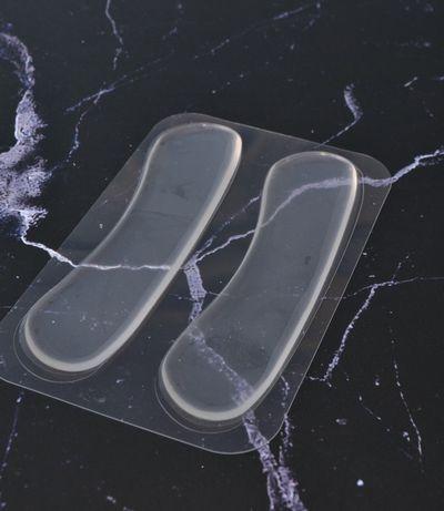 Мягкие силиконовые вставки в обувь от натирания пяток 2шт. (широкие)