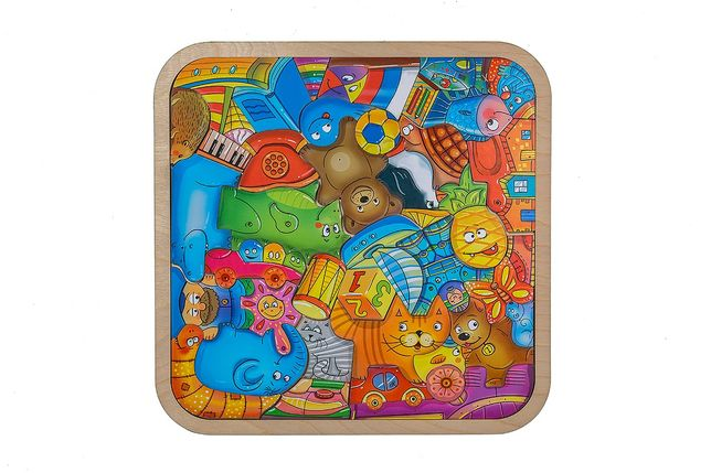 Пазл-головоломка Игрушки смайл декор