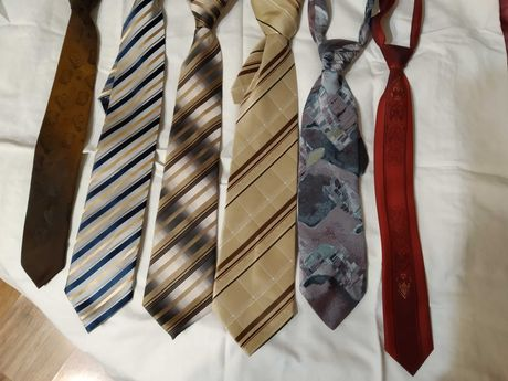 krawaty męskie komplet