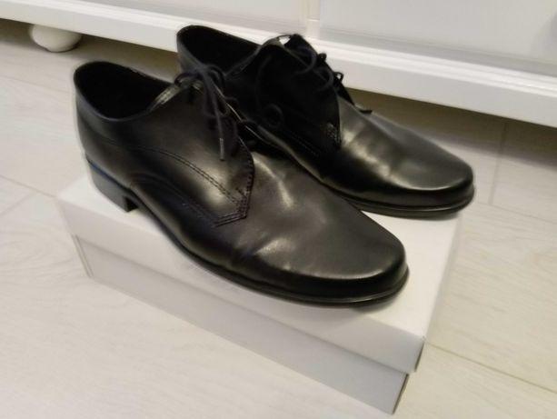 Buty komunijne jak nowe r 36 dł wkładki 24 cm