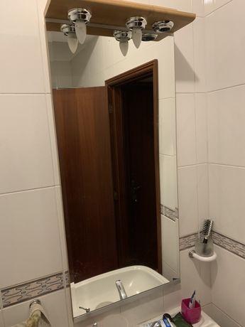 Espelho casa de banho ( 1mt de Altura x 0,50mt de Largura )
