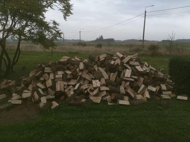 Drewno opalowe dąb