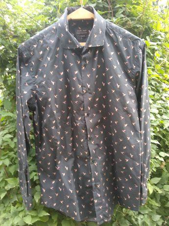 Рубашка Zara Man с колибри