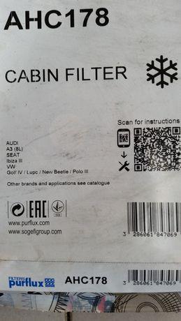 PURFLUX AHC178 Filtro, ar do habitáculo Filtro de carvão activado