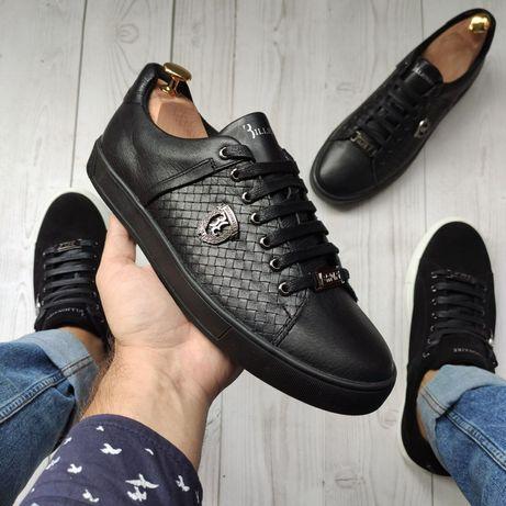Billionaire, мужские кожаные кеды кроссовки натуральная кожа