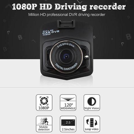 Camera GT300 Para Carro, com Vista noturna 1080P, Sensor CMOS 120