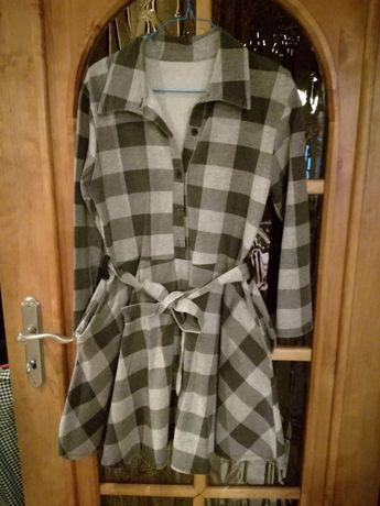 sukienka materiał dresowy rozmiar M