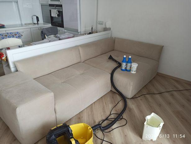 Химчистка диванов,матрасов.Уборка после ремонта,генеральная,мойка окон