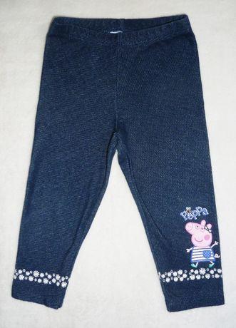 Лосины под джинс Свинка Пеппа Peppa Pig на 9-12 месяцев рост 80 см
