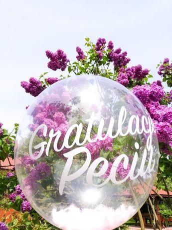 Balony z napisami na specjalne okazje: ślub, wesele, baby shower!