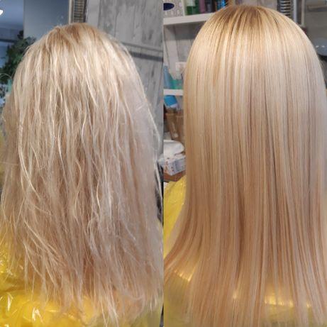 Keratynowe prostowanie włosów Alfaparf