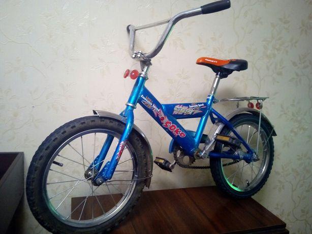 Велосипед 16' в хорошем состоянии