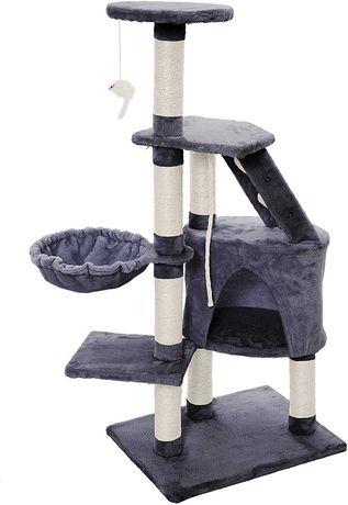 [NOVO] Árvore / Arranhador para Gatos • Altura 120 cm