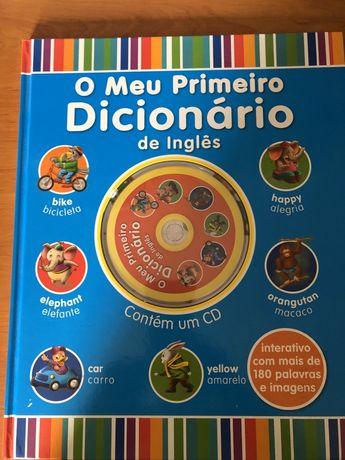 Livro dicionário de inglês