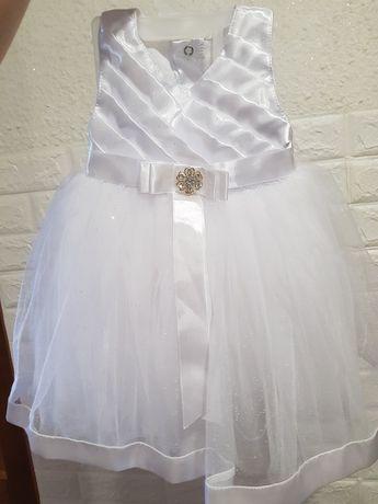 Набір для хрещення, набор для крестин, платье для девочки, сукня