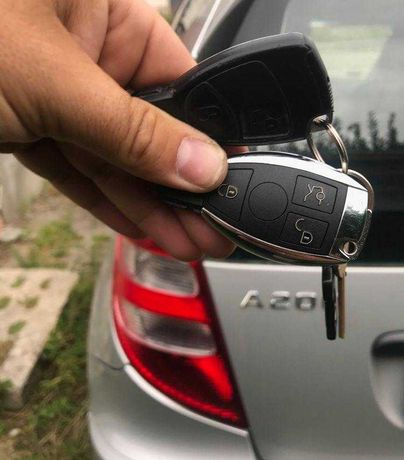 Mercedes kluczyk z kodowaniem B-klasa W245 A-klasa W169