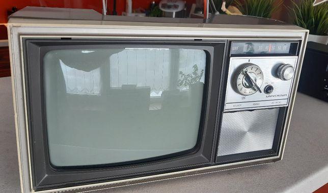 Przenośny telewizor Universum , vintage