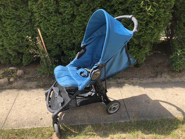 Wózek spacerówka City Mini zip by baby jogger, niebieski, do 25kg.