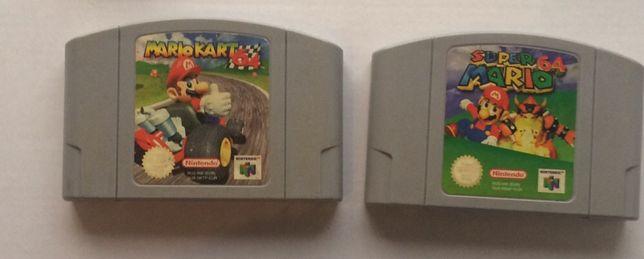 Mario kart e outros jogos nintendo 64