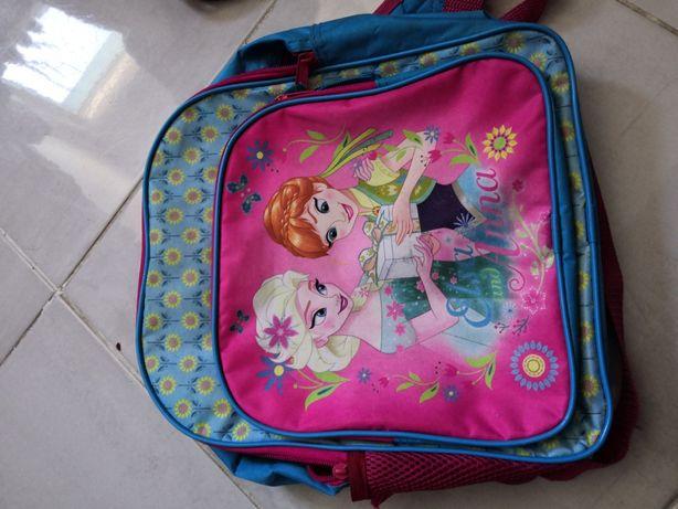 Plecak dla dziewczynki plecak ELSA, b. Dobry stan