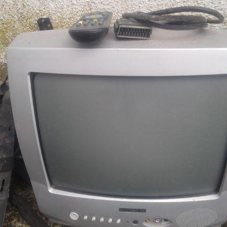 Telewizor 14cali .Daewoo dekodet dvb-t uchwyt -półka