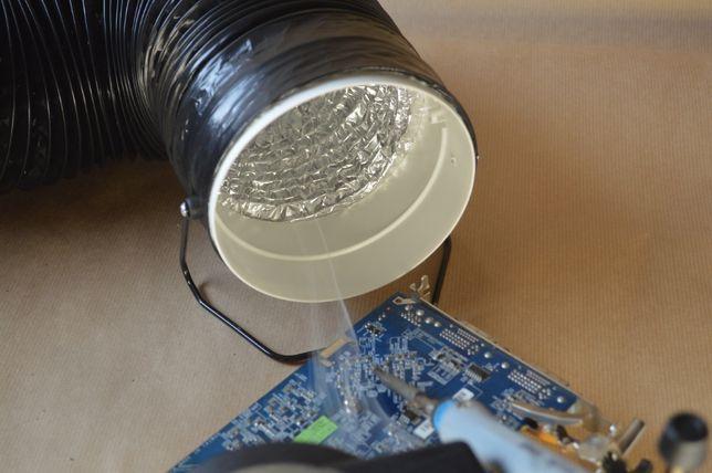 Filtr powietrza, do oparów lutowniczych, druku 3D i zapachów