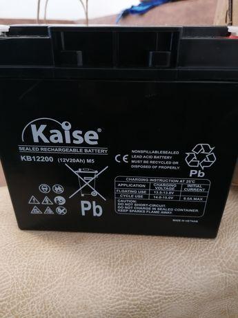 5 baterias 12v 20ah para moto elétrica nova