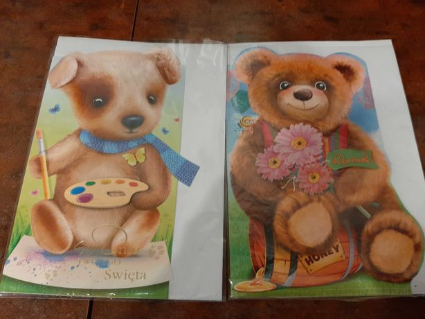 Kartki urodzinowe dla dzieci - format A4