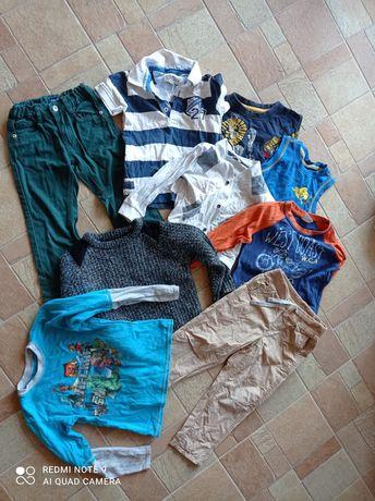 Ubranka 92-104 dla chłopca