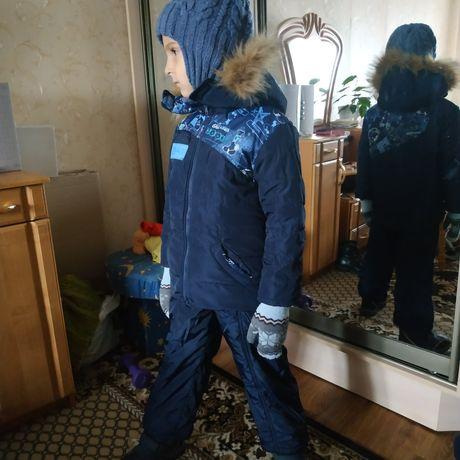 Зимний комплект: куртка+комбез+термо ботинки