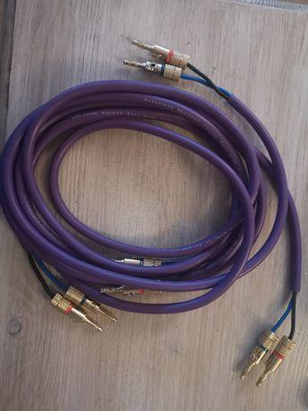Kable głośnikowe Melodika Purple Rain 2m