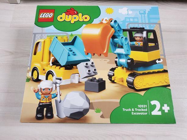 LEGO DUPLO Ciężarówka i koparka gąsienicowa 10931 Nowe