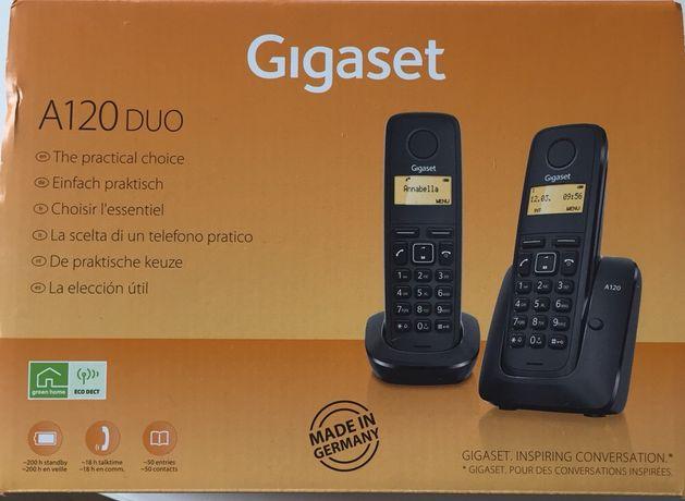 Telefon aparat zestaw telefoniczny Gigaset A120 Duo