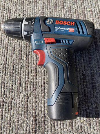 Bosch Professional GSR 12V-15 c/ bateria e carregador