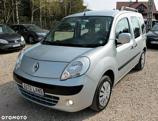 Renault Kangoo 1.5 DCI 90KM!2011r!185Tys.km!Klimatyzacja!Hak!Stan bdb!Opłacony!