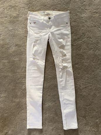 Белые джинсы Hollister 24 размер