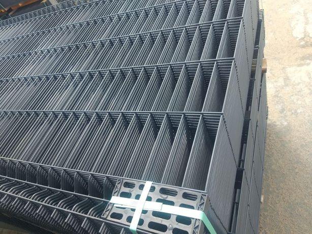 Promocja! Ogrodzenia panelowe panel ogrodzeniowy Panel 153 fi 4