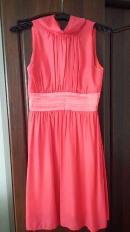 Sukienka malinowy róż rozmiar 36