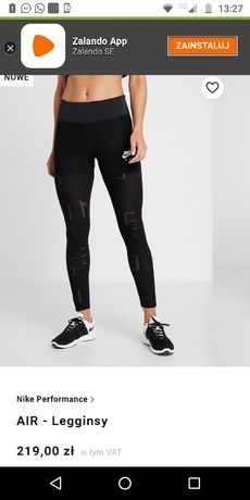 Promocja Sprzedam nowe legginsy Nike