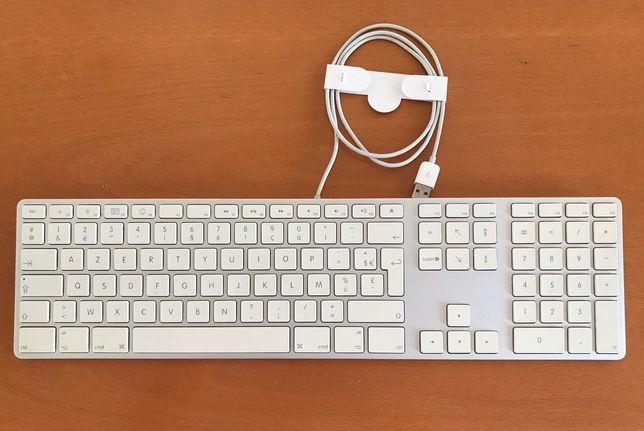 Teclado Apple AZERTY com fio