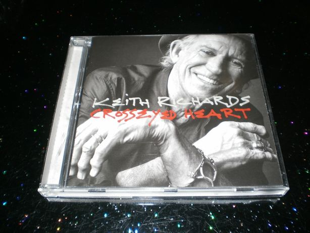 "Keith Richards ""Crosseyed Heart"" CD Made In Netherlands."