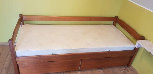 Łóżko z dwoma szufladami